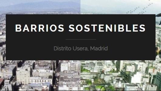 Imagen de la página web del programa / BARRIOS SOSTENIBLES