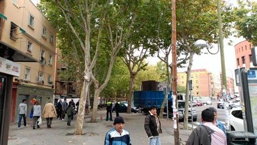 Retirada del quiosco de la calle Mirasierra (Moscardó) / PSOE USERA