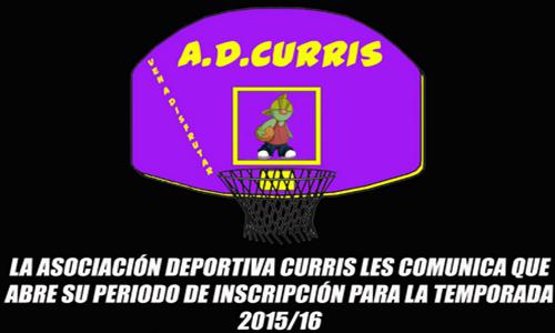 La AD Curris abre su periodo de inscripción en la web / AD CURRIS